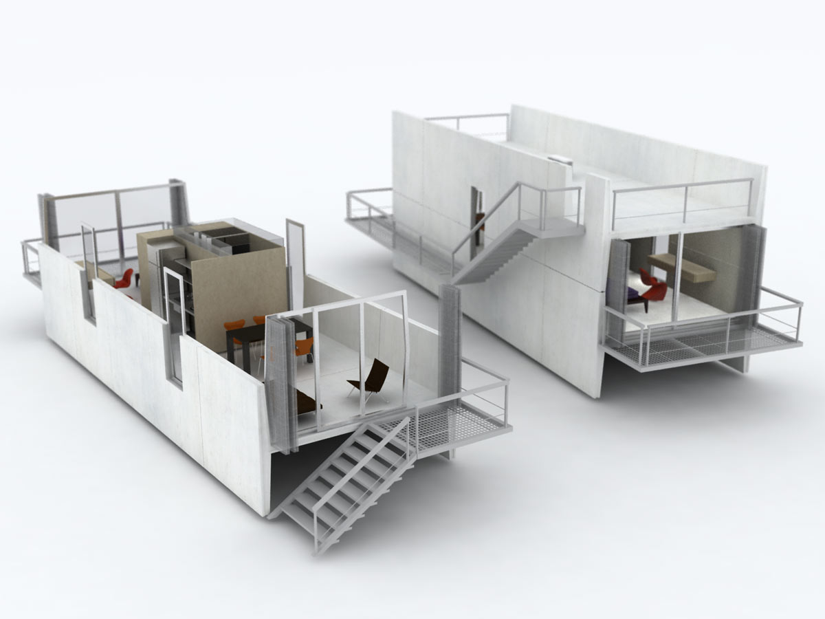 living box gruposp. Black Bedroom Furniture Sets. Home Design Ideas