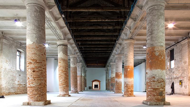 © Giulio Squillacciotti. Arsenale, Veneza. Cortesia de La Biennale di Venezia